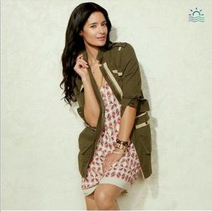 CAbi #722 Army Green Olive Anorak Jacket Military